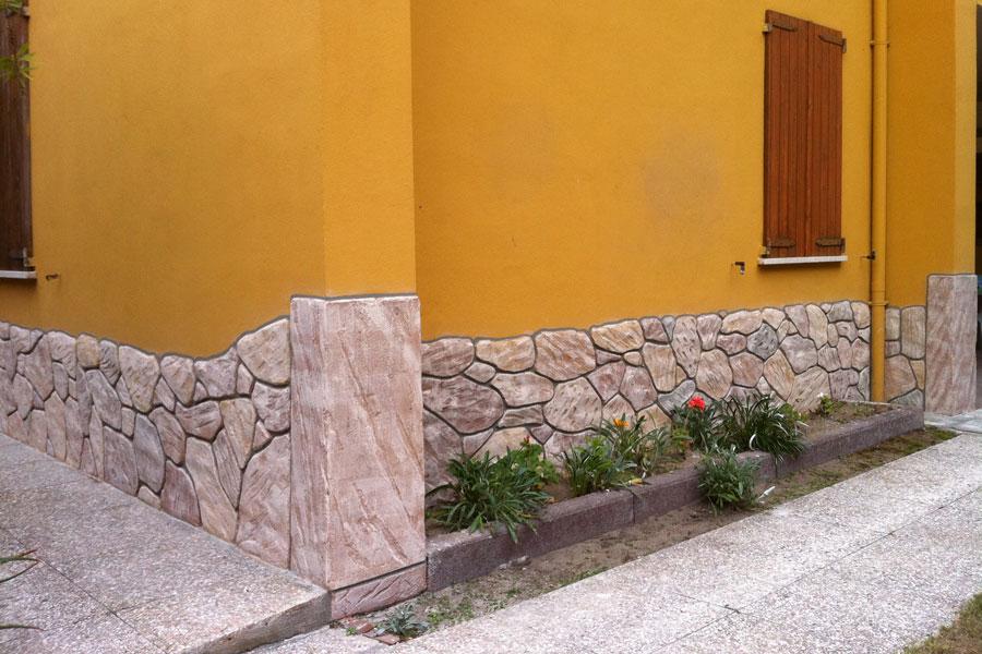 Rivestimento Esterno Casa : Rivestimento muri esterni etnagessi